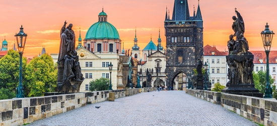 £68 per night | Charles Bridge Palace, Prague, Czech Republic