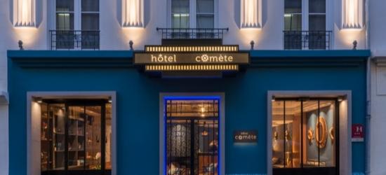 £85 per night | Hotel Comète Paris, Paris, France