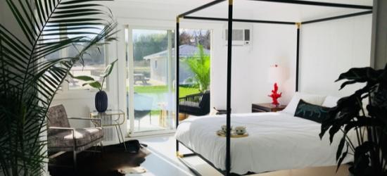 £70 per night | Bayfront retreat in Long Island wine country, Aqua by American Beech, Aquebogue, New York