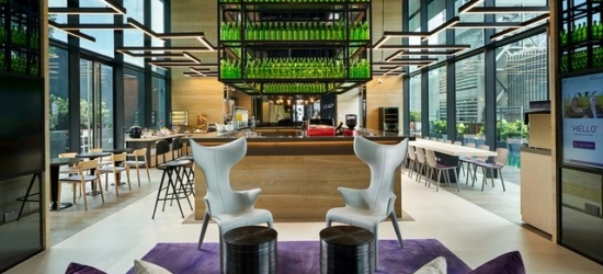 £110 per cabin per night | YOTEL Singapore, Singapore
