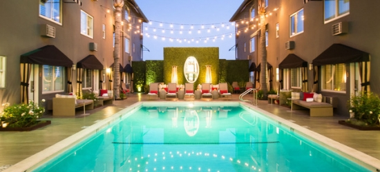 £146 per night | The Grafton on Sunset, West Hollywood, Los Angeles, California