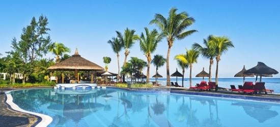 4-star Mauritius week, meals & massage