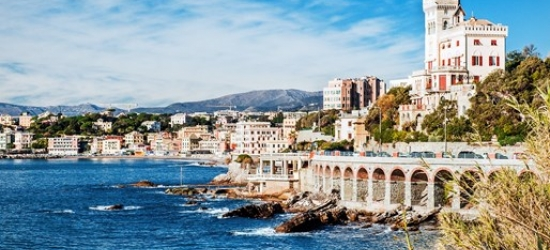 9-nt Mediterrean cruise w/balcony & Genoa stay, save £1000