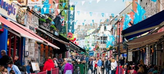 £161 -- 2-night Galway escape with dinner, was £276