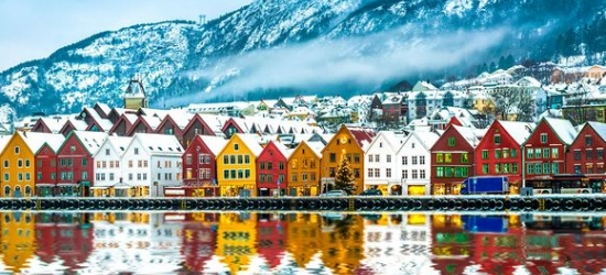 Norway / Bergen - Newly Refurbished City Centre Hotel at the Thon Hotel Rosenkrantz 4*