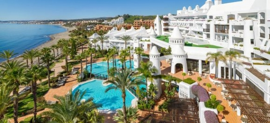 Costa del Sol - Beachside Relaxation in the Andalusian Sun at the H10 Estepona Palace 4*