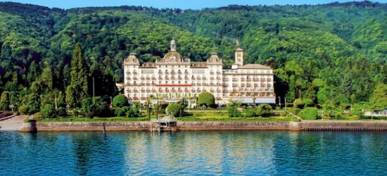 Italy / Lake Maggiore - Luxury Lakeside Spa Hotel  at the Grand Hotel Des Iles Borromees 5*