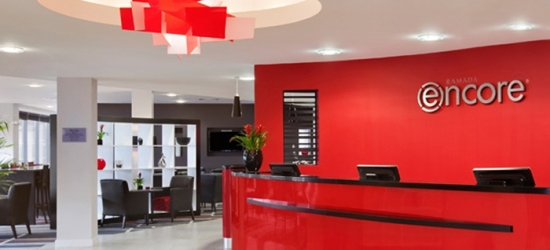 Newcastle: Double Room with Breakfast, Dinner Credit, Parking and Gym Access at Ramada Encore Newcastle Gateshead