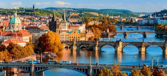 Central Prague: Double or Twin Room for Two with Buffet Breakfast at Hotel Zlatá Váha
