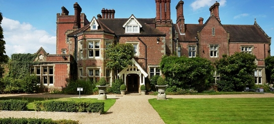 West Sussex: Double or Twin Room for Two with Breakfast and Dinner Credit at 5* Alexander House Hotel & Utopia Spa