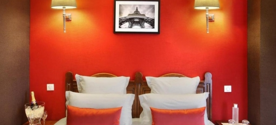 Paris: Classic Double Room for Two with Optional Breakfast at 4* Trianon Rive Gauche