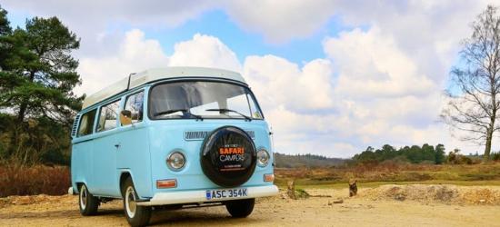 3-4nt New Forest Vintage VW Campervan Hire for 4