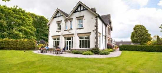 Peak District Country House Escape with 2-Course Dining for 2 @ Newton House