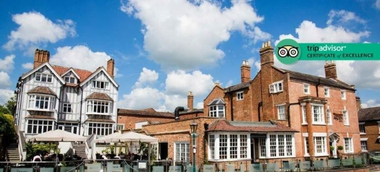 1-2nt Luxury 4* Stratford-Upon-Avon Manor, Dining & Wine for 2