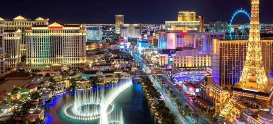 6nt Central New York & Las Vegas Getaway with Flights