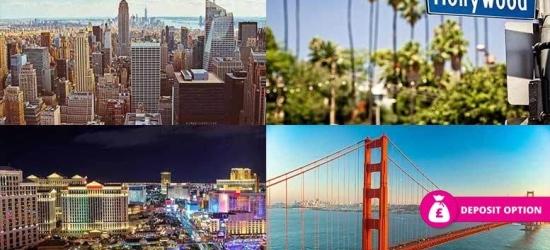 USA Getaway - 10nt New York, San Fran, LA & Las Vegas!