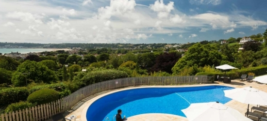 Elegant Jersey break with sea views & car hire, Hotel Cristina, Channel Islands