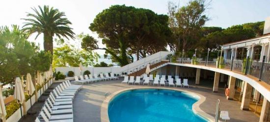 Sun-kissed Costa Brava beachfront holiday with car hire, ILUNION Caleta Park, Girona