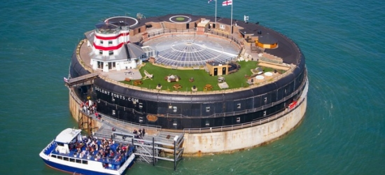 Soak up a bucket-list sea fort stay in the Solent, Hampshire