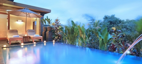 £82 per villa per night | The Sankara Suites & Villas, Bali, Indonesia