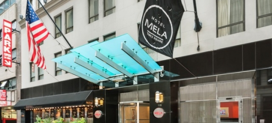 £69 per night | Hotel Mela Times Square, Midtown, New York