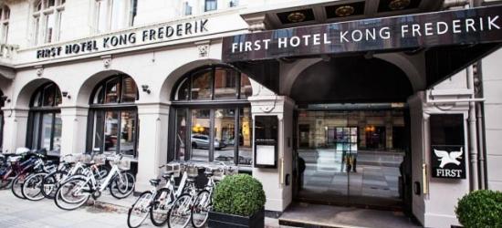 £95 per night | First Hotel Kong Frederik, Copenhagen, Denmark