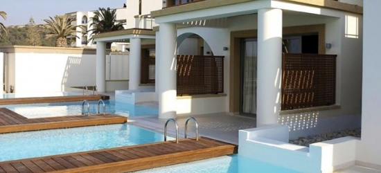 5* all-inclusive Rhodes adults-only beach escape with optional swim-up room, Sentido Ixian All Suites, Greece