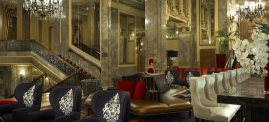 £102 per night   Iconic hotel off San Francisco's Union Square, Kimpton Sir Francis Drake, San Francisco, California