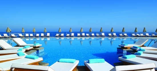5* Crete escape at a luxe spa hotel with a private beach, The Royal Blue, Greece
