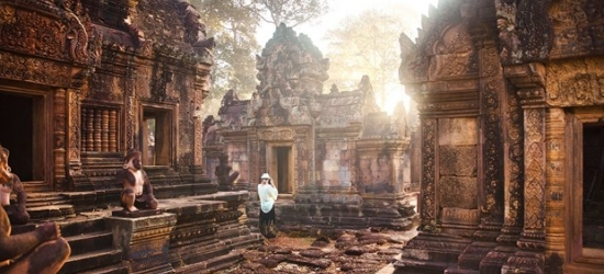 £136 -- Cambodia: luxury 3-night stay with Angkor Wat tour