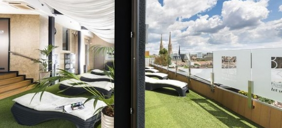 Budapest - Rooftop Spa & Champagne Breakfast  at the BO33 Hotel Family & Suites 4*