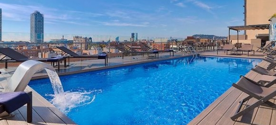 Barcelona - Urban Sophistication with a Rooftop Pool at the H10 Marina Barcelona 4*