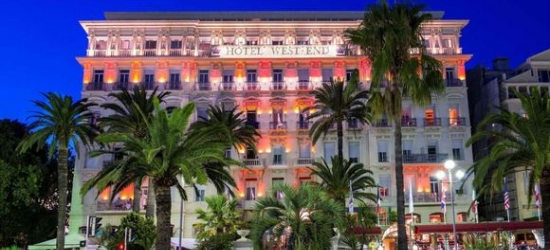 Nice - Historic Glamour on the Promenade des Anglais at the Hotel West End Nice 4*