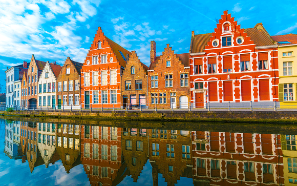 Belgium / Bruges - Romantic Medieval Break with Eurostar from London at the Hotel de' Medici 4*