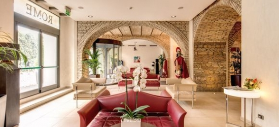 Rome - Renovated Monastery with Original Features at the Kolbe Hotel