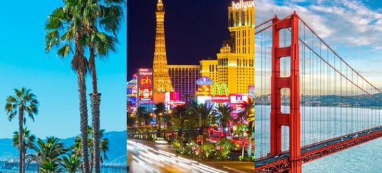 USA / LA, Las Vegas and San Francisco - Triple Centre Stay in Three Iconic Cities at the Golden Triangle USA: Los Angeles, Las Vegas and San Francisco