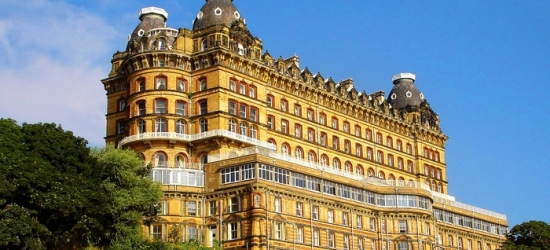 North Yorkshire: 1 or 2 Nights for Two with Breakfast, Carvery Dinner and Wine at Britannia Grand Hotel Scarborough