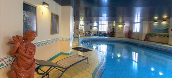 Southport: 1 or 2 Nights for Two with Breakfast, Leisure Access and Option for Dinner and Wine at Scarisbrick Hotel