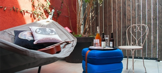 Paris: Superior Room for Two with Late Check-Out, Parking and Option for Breakfast at Mob Hotel