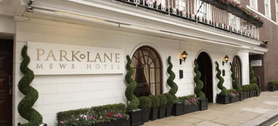 London: Double or Deluxe King Room for Two with Option for Breakfast at 4* Park Lane Mews