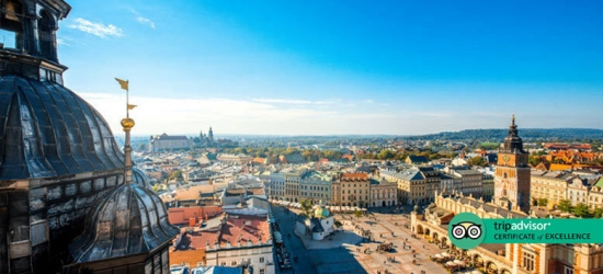 2-3nt 5* Luxury Krakow Stay, Breakfast  - Optional Tours!