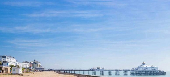 Seafront Eastbourne Escape & Breakfast for 2 or 4 - Summer Dates!