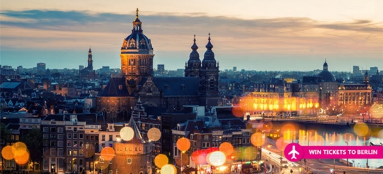 2-3nt Amsterdam Escape with Flights & Chance to Win Berlin Trip