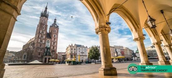 2-3nt 4* Central Krakow City Getaway