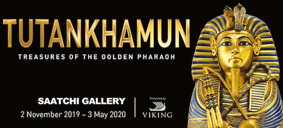 Mesmerising Tutankhamun exhibition & a London hotel stay