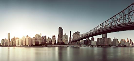 Return flights from London to New York