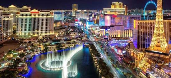 Return flights from London to Las Vegas