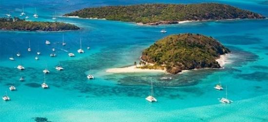 Return flights from London to Tobago