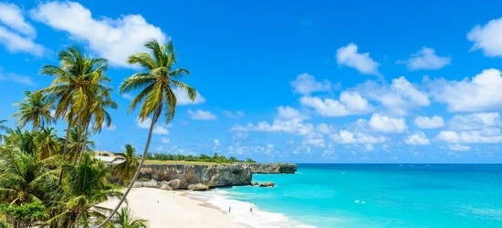 Return flights from London to Barbados