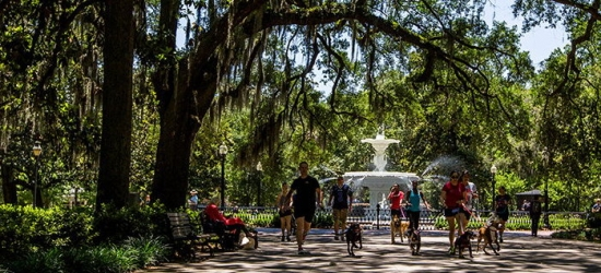 Win a city break to Savannah, USA